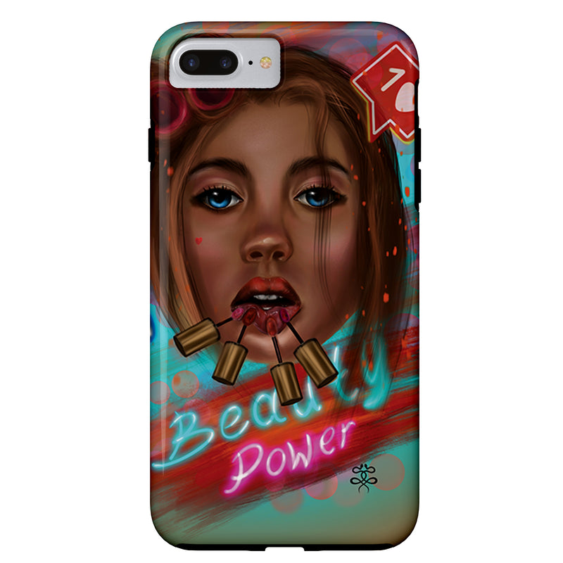 Newschoolenko Max - Beauty Power - iPhone Case