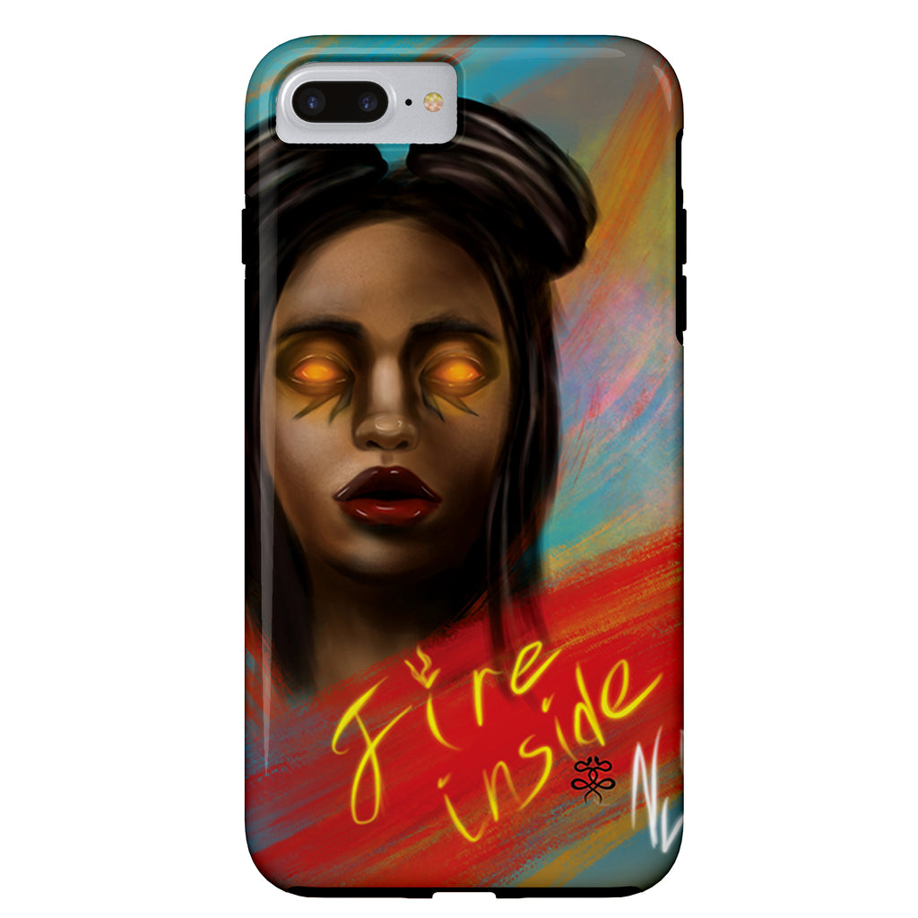 Newschoolenko Max - Fire Inside - iPhone Case