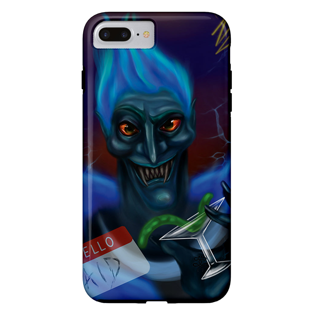 Newschoolenko Max - Hello AId - iPhone Case