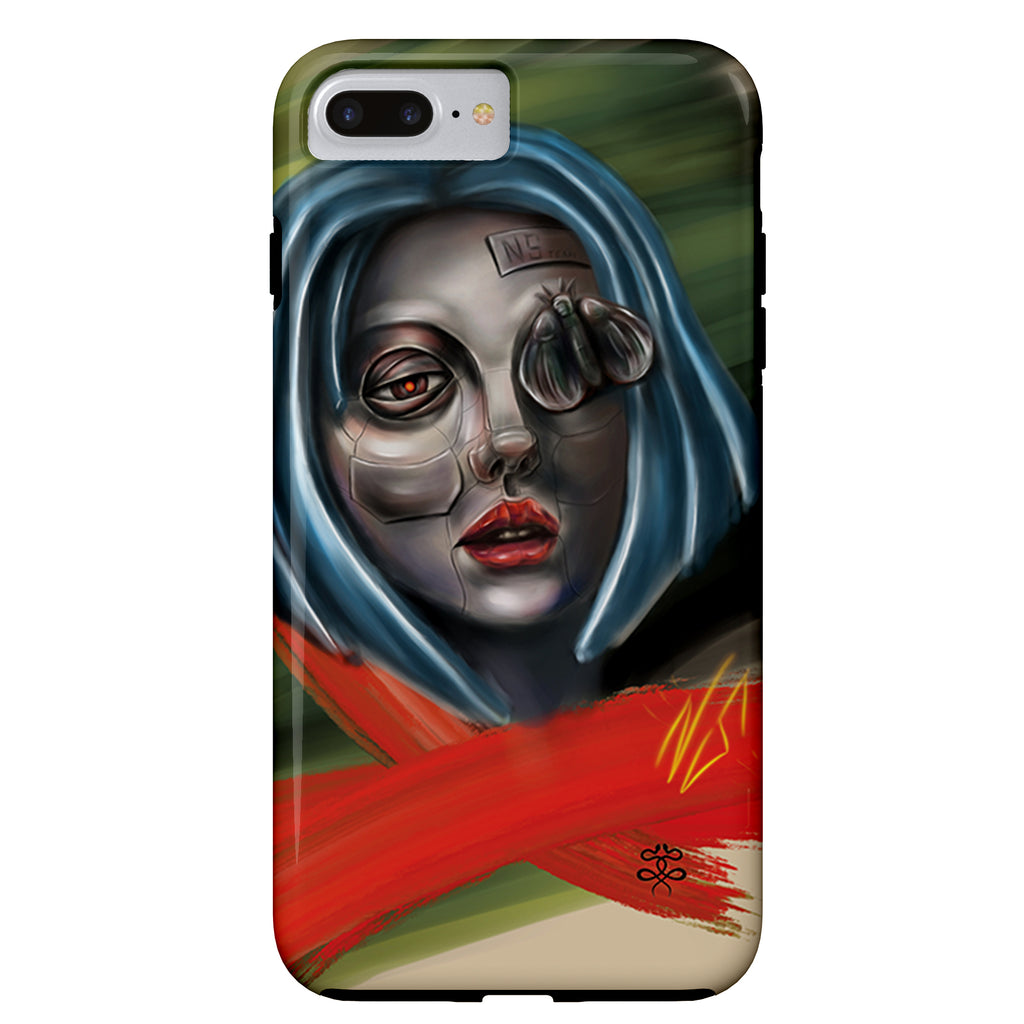 Newschoolenko Max - Iron Girl - iPhone Case
