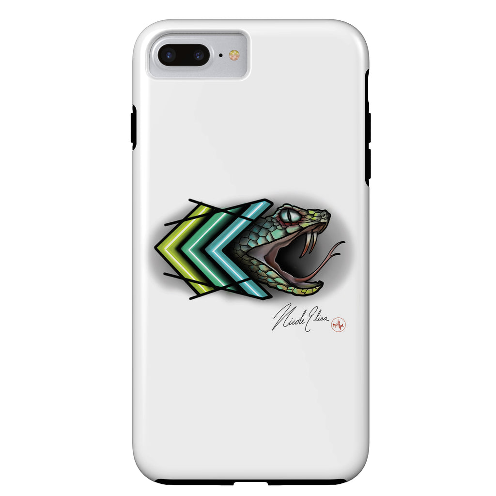 Nicole Elisa - Snake Vibes - iPhone Case