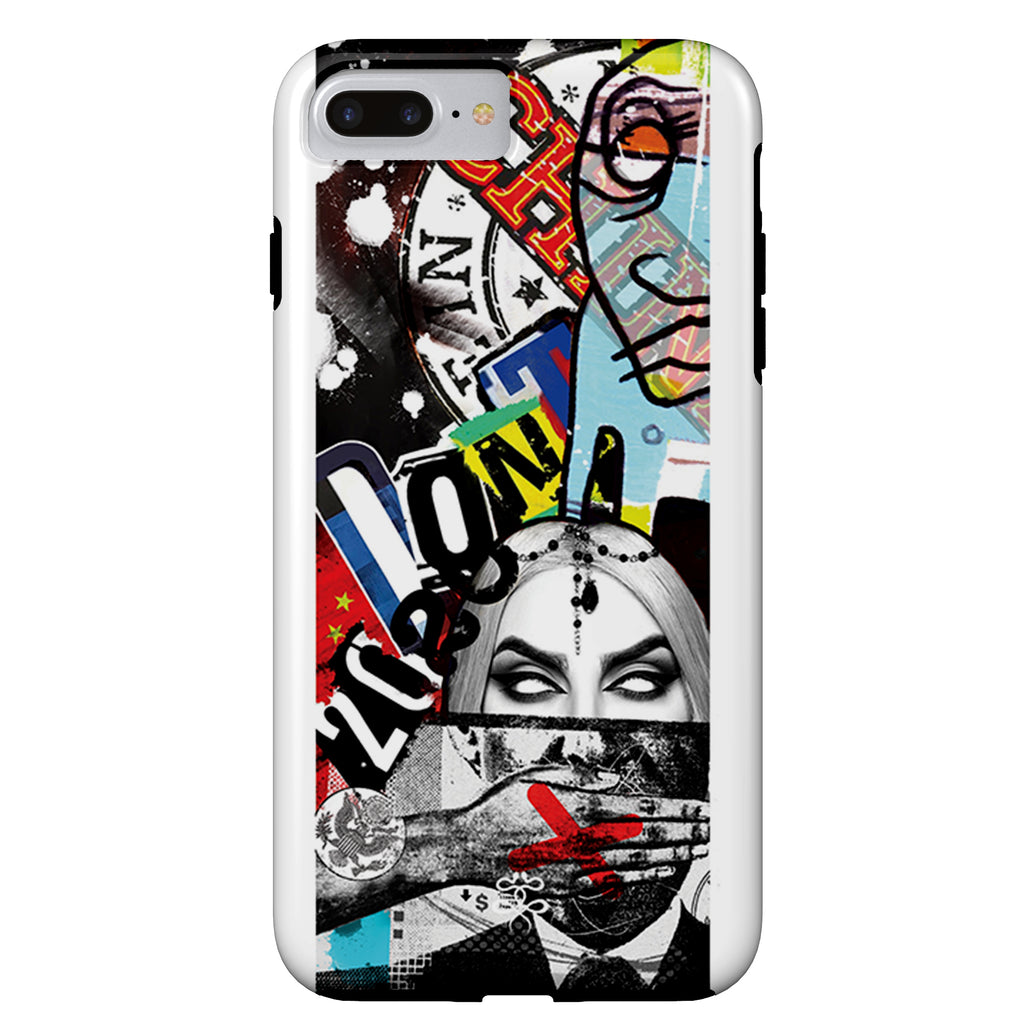 Sameer Patange - Don't Speak - iPhone Case