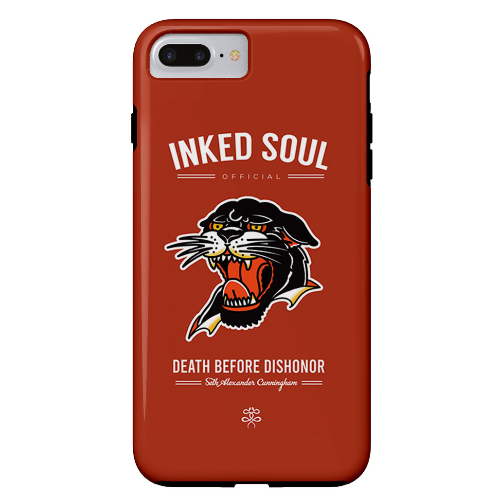 Seth Alexander x Inked Soul - Americana Panther - iPhone Case