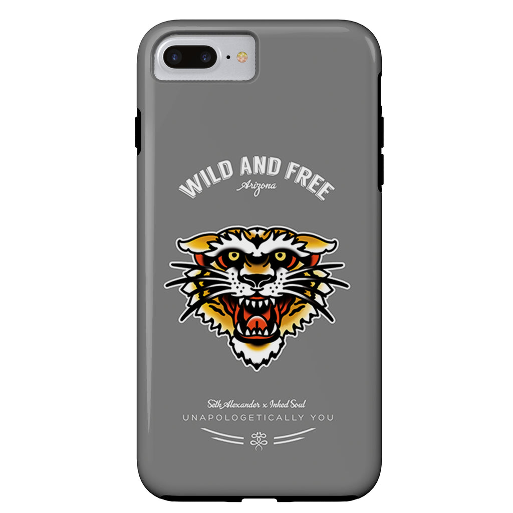 Seth Alexander x Inked Soul - Americana Tiger - iPhone Case