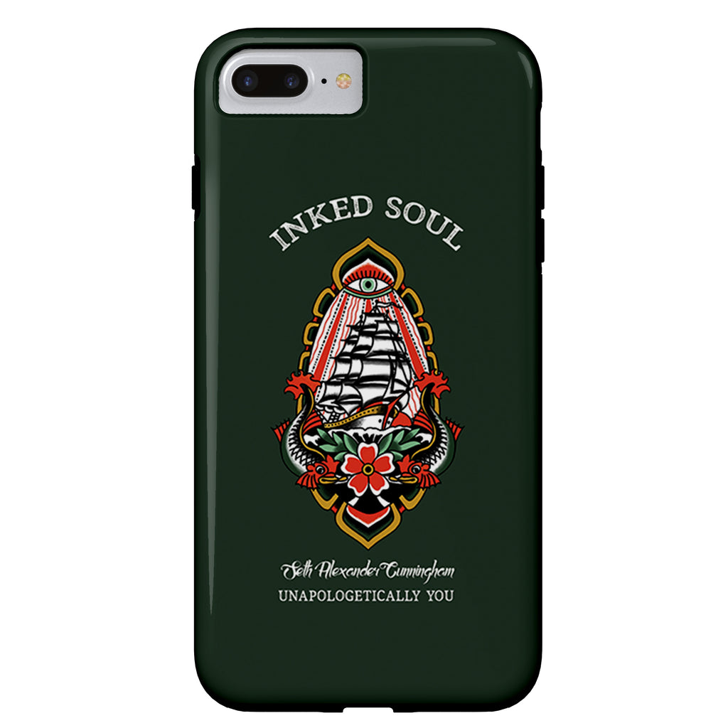 Seth Alexander x Inked Soul - Ship - iPhone Case