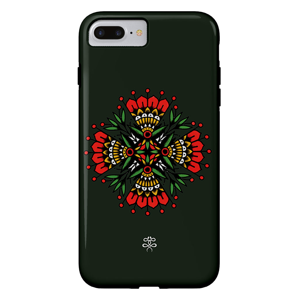 Seth Alexander - Folk Floral - iPhone Case