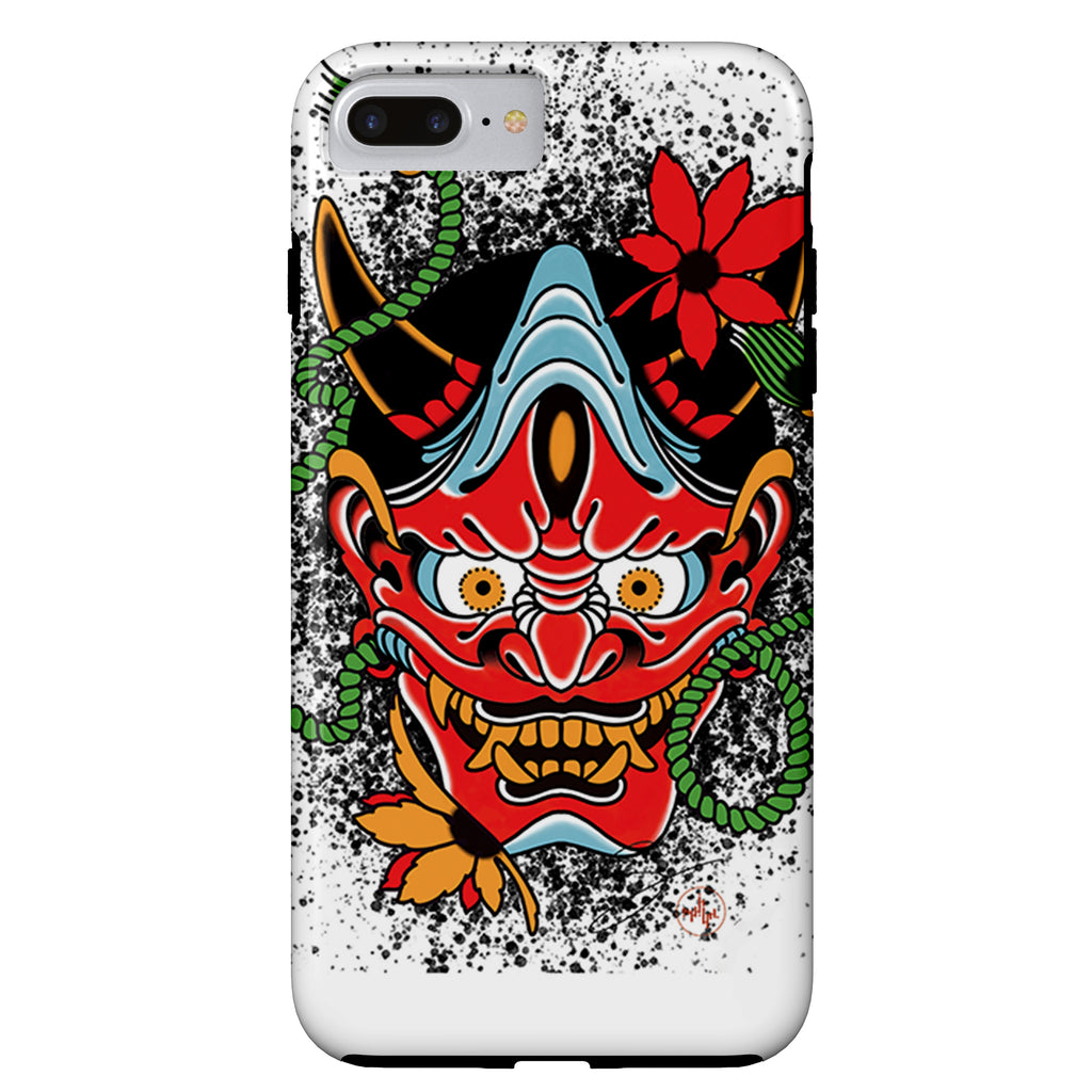 Seth Alexander - Oni Mask - iPhone Case