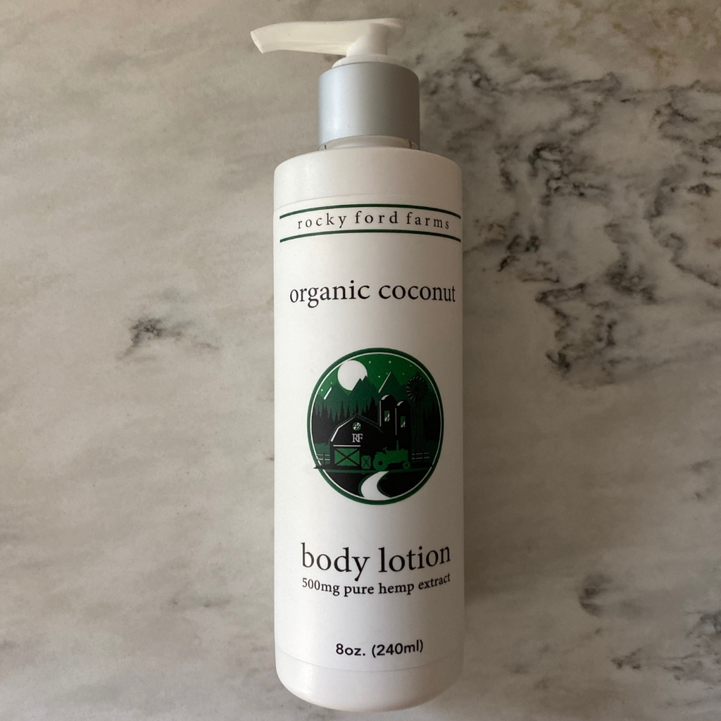 Coconut CBD Body Lotion