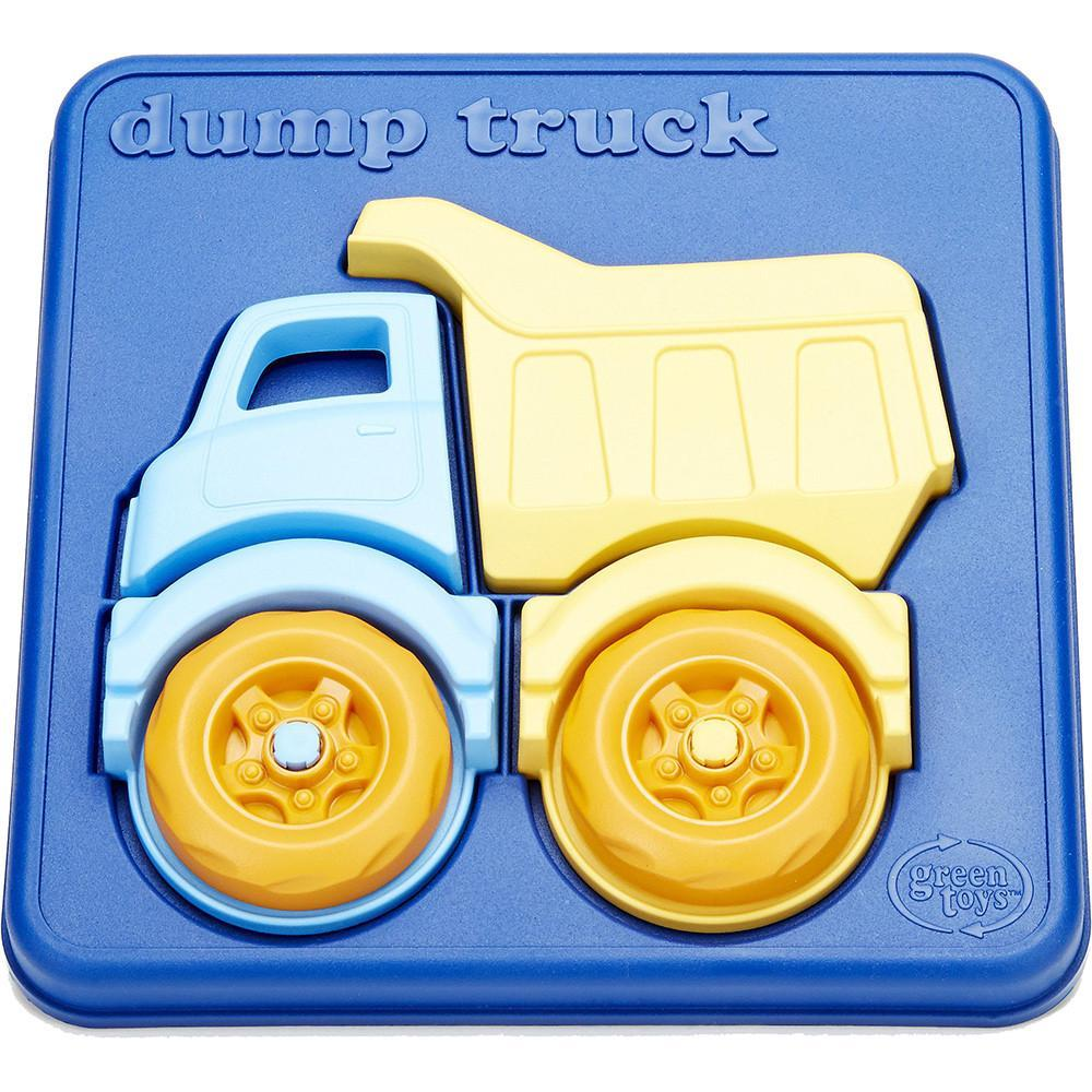 Green Toys Puzzle Dump Truck