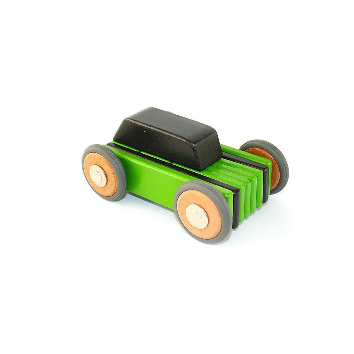 Tegu, wooden, magnetic, building, car
