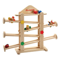 wooden, decoration, rolling garden, balls, ball track
