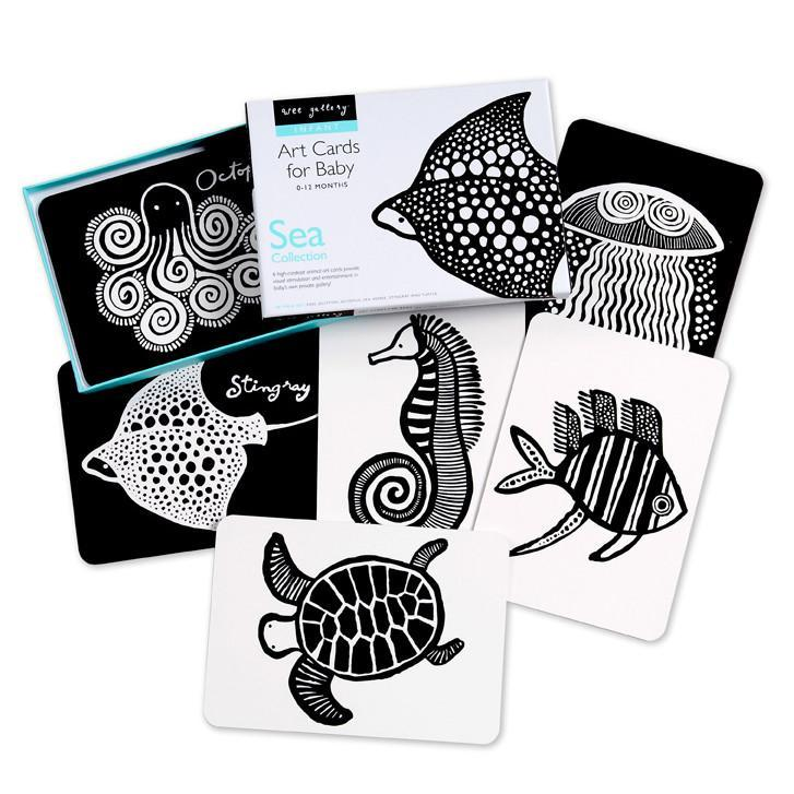Wee Gallery Art Cards Sea