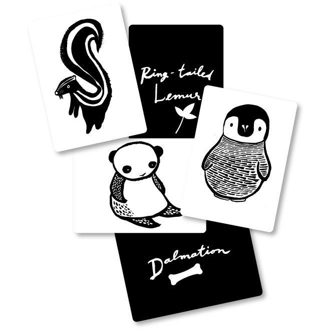Wee Gallery Art Cards Black & White