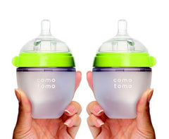 Baby Bottle 5oz Twin Pack - Green