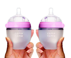 Baby Bottle 5oz Twin Pack - Pink