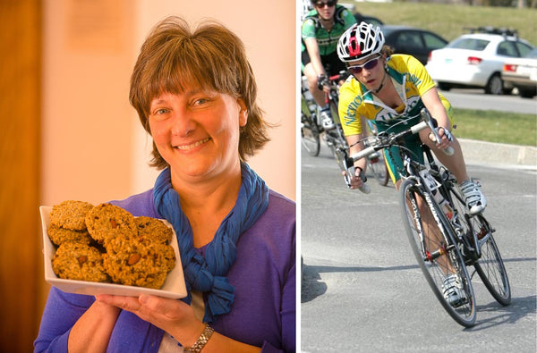 The Kakookies Story - a mom bakes breakfast cookies for cyclist daughter and cycling team