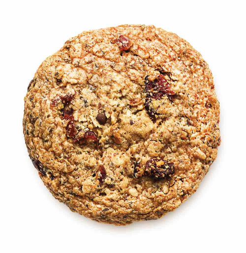 Kakookies Soft and Delicious Almond Cranberry Energy Snack Cookies with Superfood Ingredients