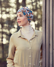 Load image into Gallery viewer, Lotus Turban, Printed  - Christine Headwear Bamboo Collection