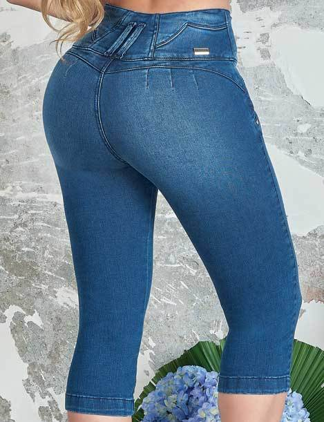 'Heartbreaker' Push up Jeans Levanta Cola 10844