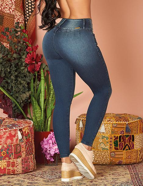 'Iconic' Butt Lift Levantacola Jeans 10983