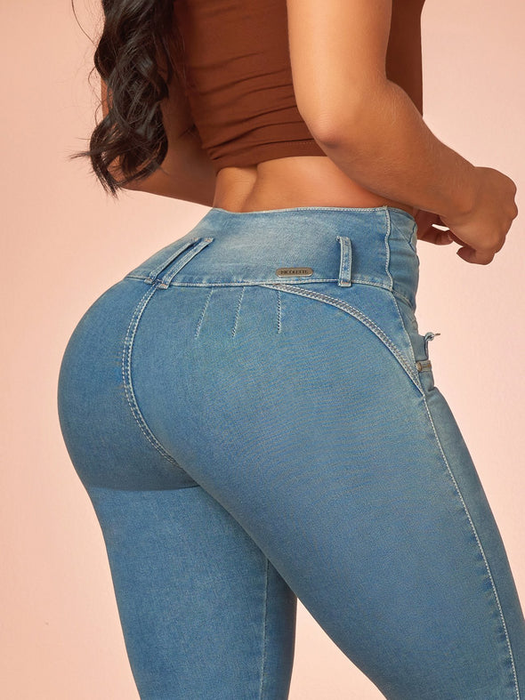 'Believe' Butt Lift Levanta Cola Jeans 12310