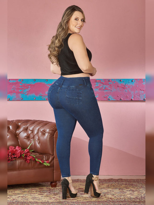 'Free Time'  Butt Lift Levanta Cola Jeans 12369