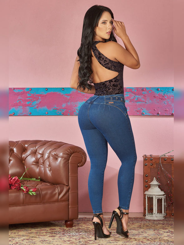 'Cathy' Butt Lift Levanta Cola Jeans 12373