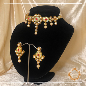Aashi Necklace and Earrings Set