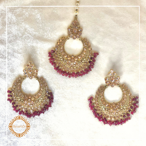 Ragini Earrings & Tika Set