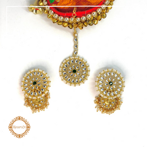 Gina Earrings & Tika Set