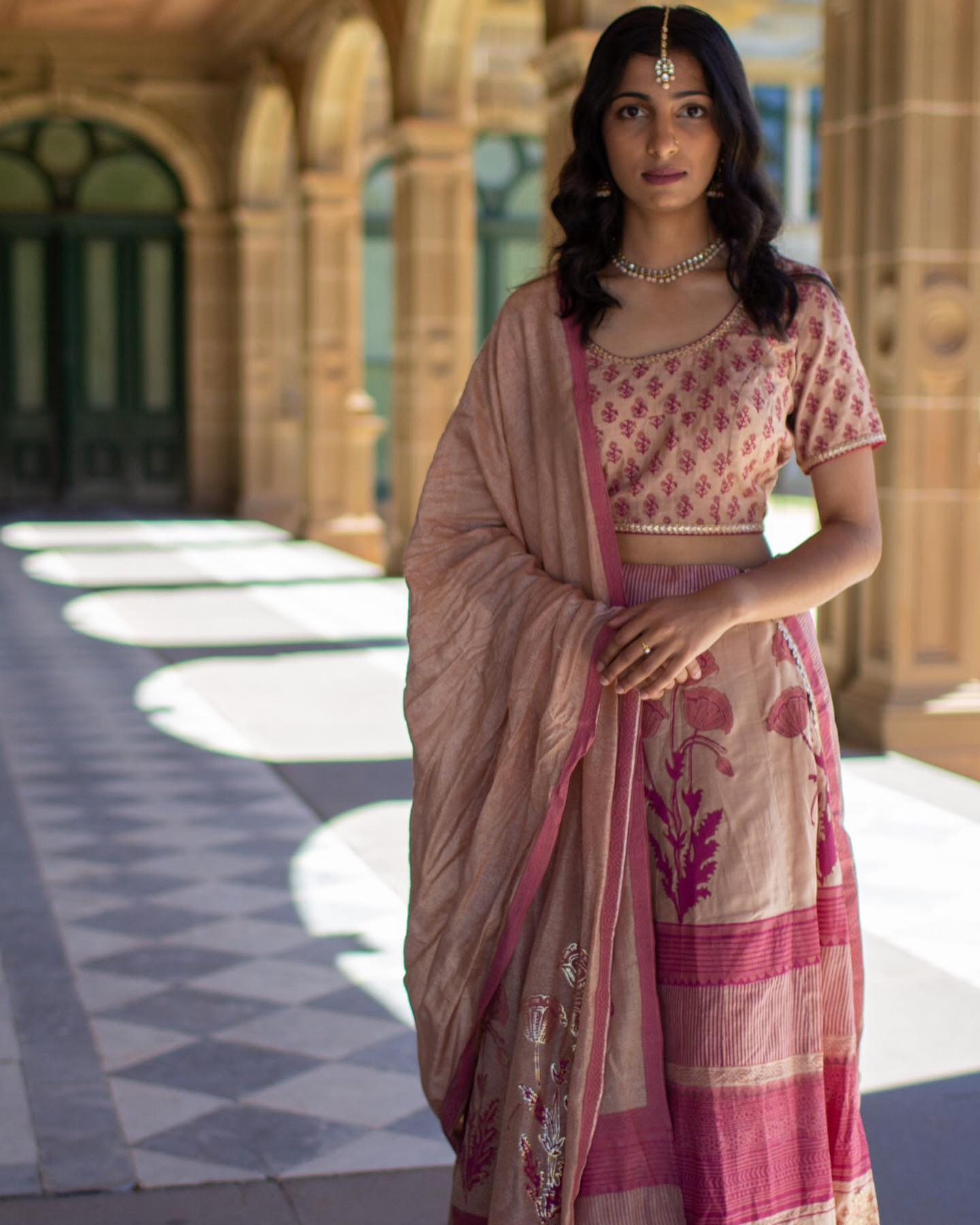 Less Is More Lehenga