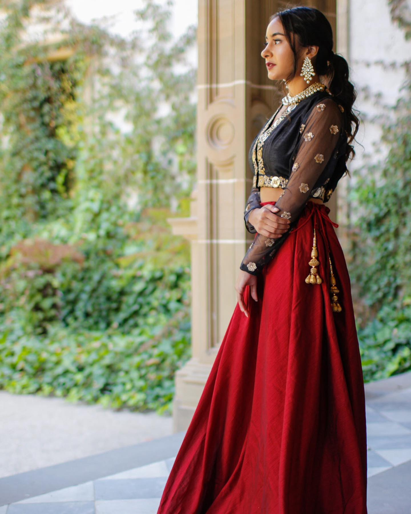 Bold and Beautiful Lehenga