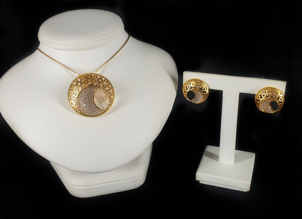 Gold-tone plated Starburst Set