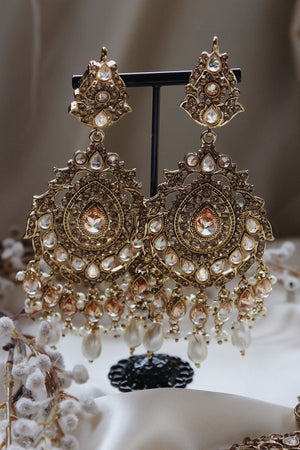 Heena Earring and Tikka Set