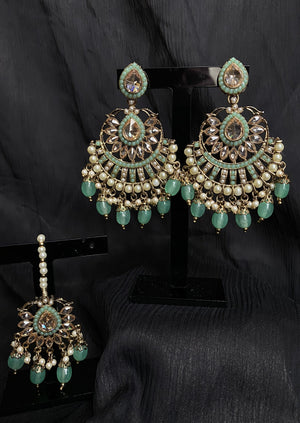 Lavina Set (Deep Red/Mint)