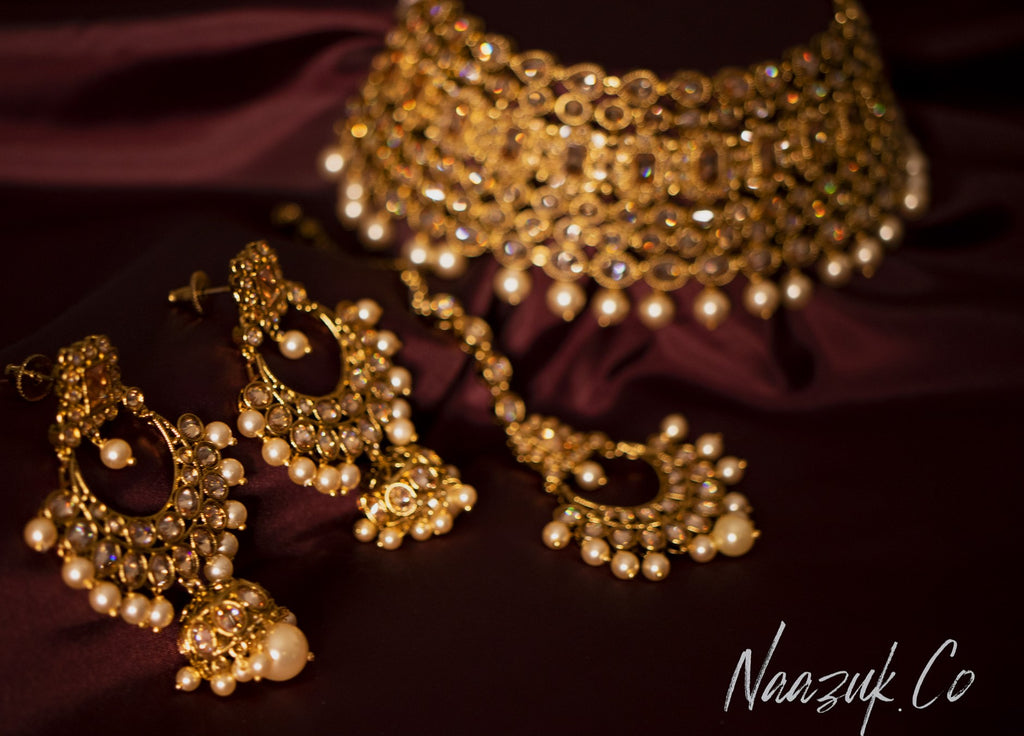 Royal Pearl Bridal Set
