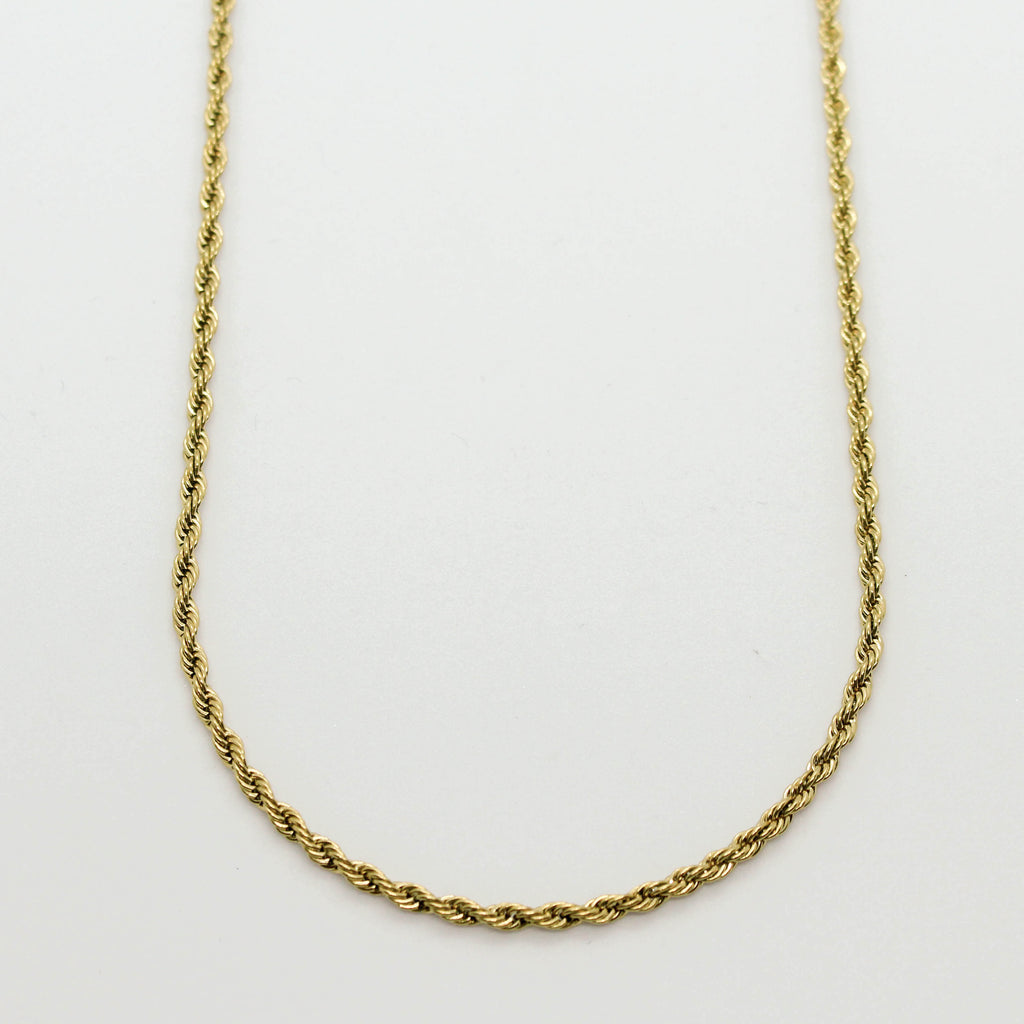 Signature Gold Twisted Snake Chain Necklace