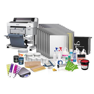 Riley 350 Auto-Ready Screen Printing Shop Package | ScreenPrinting.com