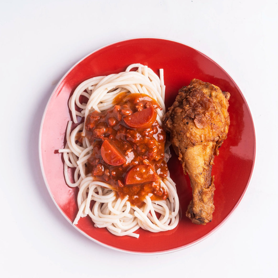 1 pc Original Fried Chicken with Spaghetti