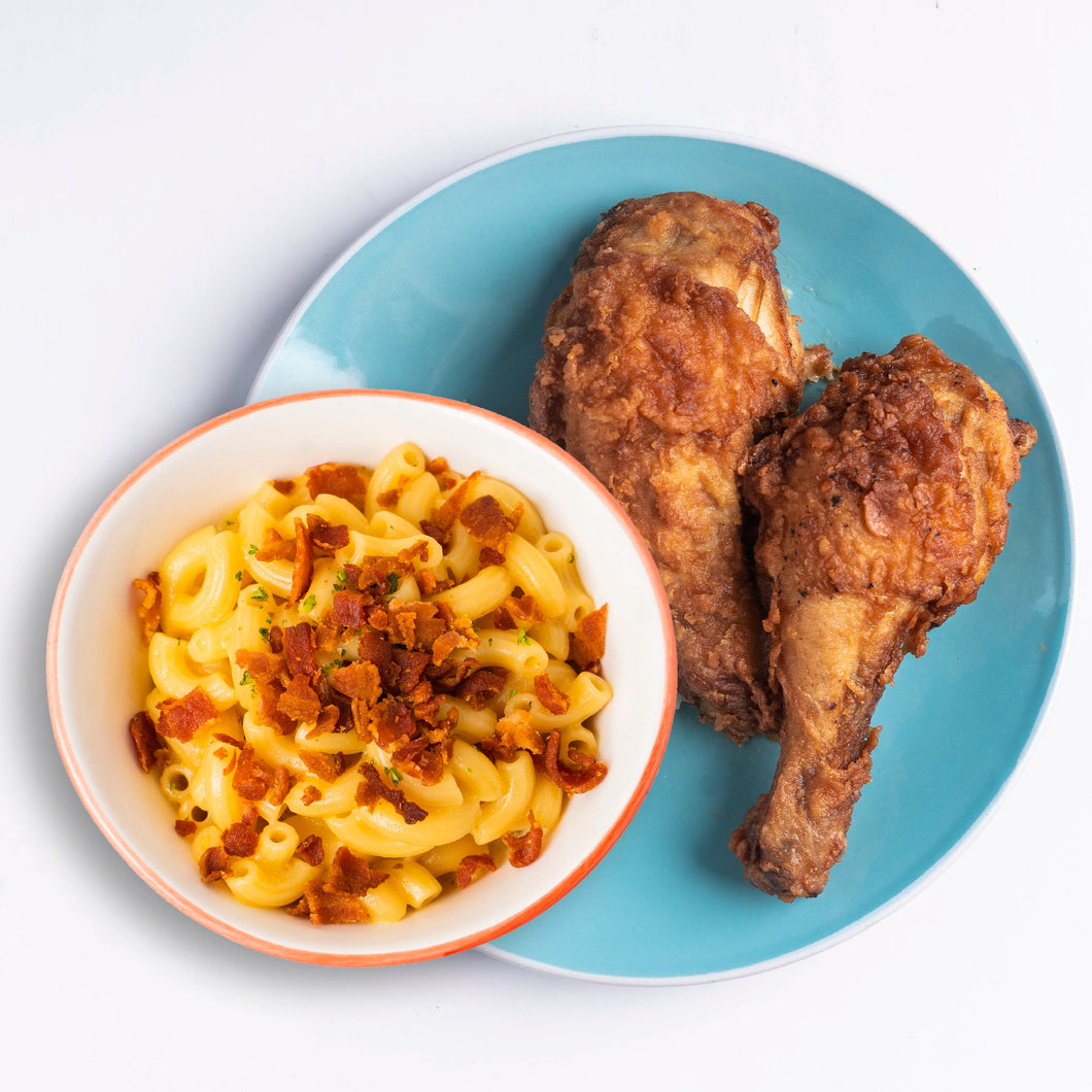 2 PC Original Fried Chicken with Mac & Cheese