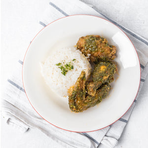 3 PC Chimichurri Wings with Rice