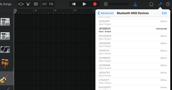 Jamstik Quick Tips for GarageBand - How To Connect Your Jamstik to GarageBand
