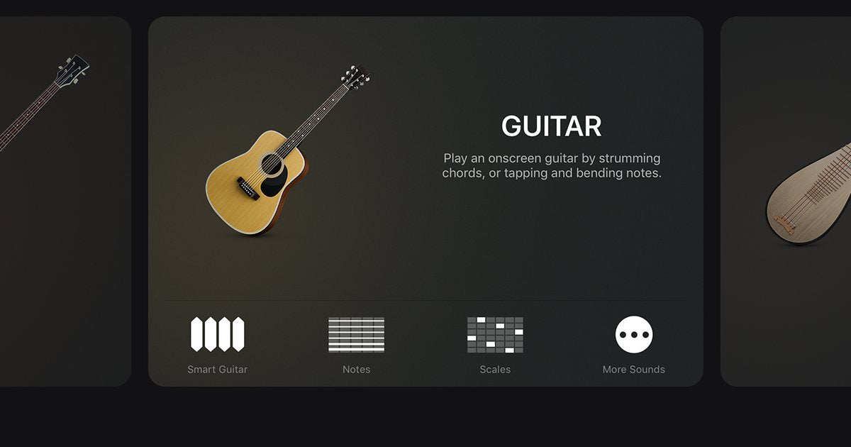 Jamstik Quick Tips How To Select An Instrument In Garageband