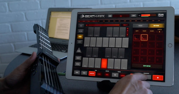 How to Create Your First Song in BeatHawk with the jamstik+