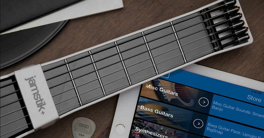 Download Great New Sounds for the jamstik+ app