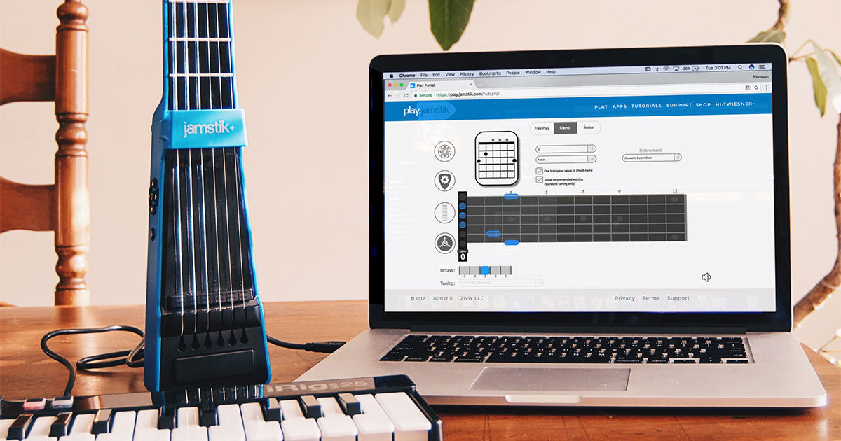 Introducing the Jamstik Play Portal for Google Chrome