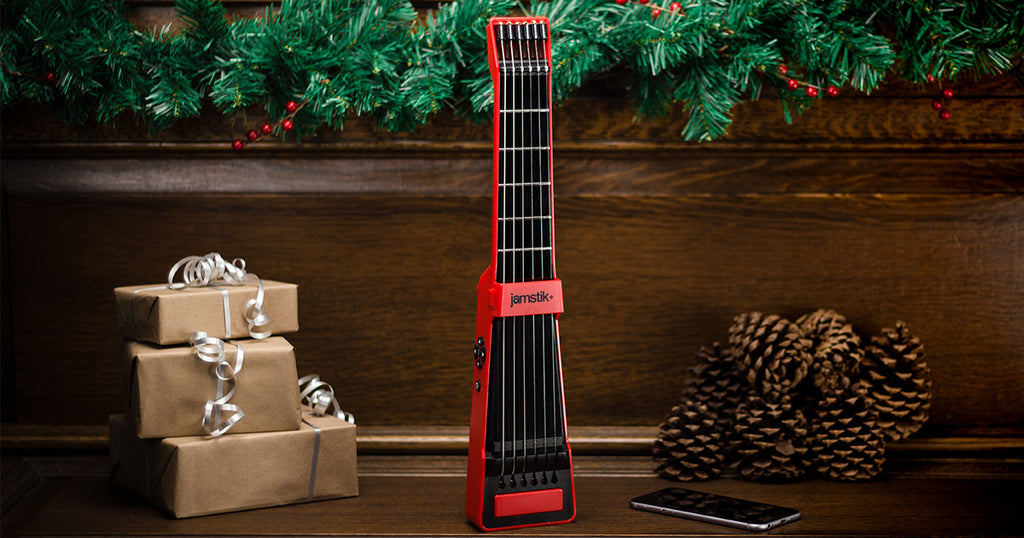 "Top Holiday Gifts for Musicians, Coolest Gadgets & ""Best of"" Lists, Featuring jamstik+!"