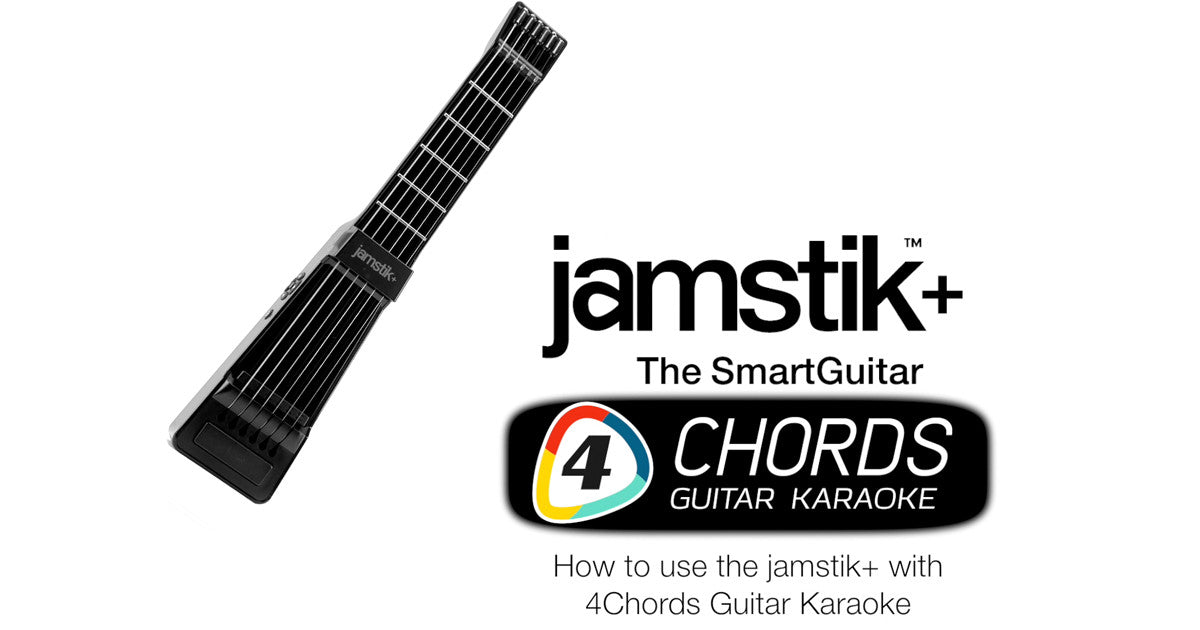 How to use the jamstik+ with the FourChords Guitar Karaoke app