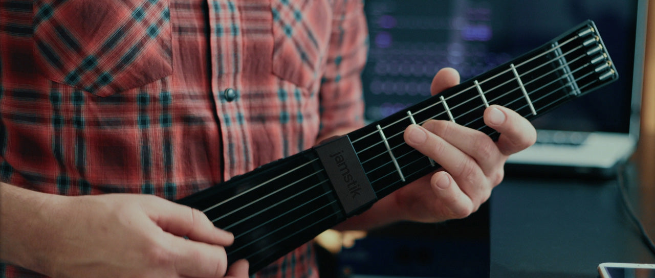 Create Music with Jamstik's Wireless Smart Guitar Technology