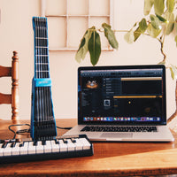 Blue jamstik+ smart guitar, music production